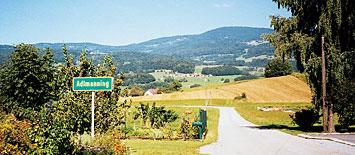 herrliche Landschaft im Bayerischen Wald